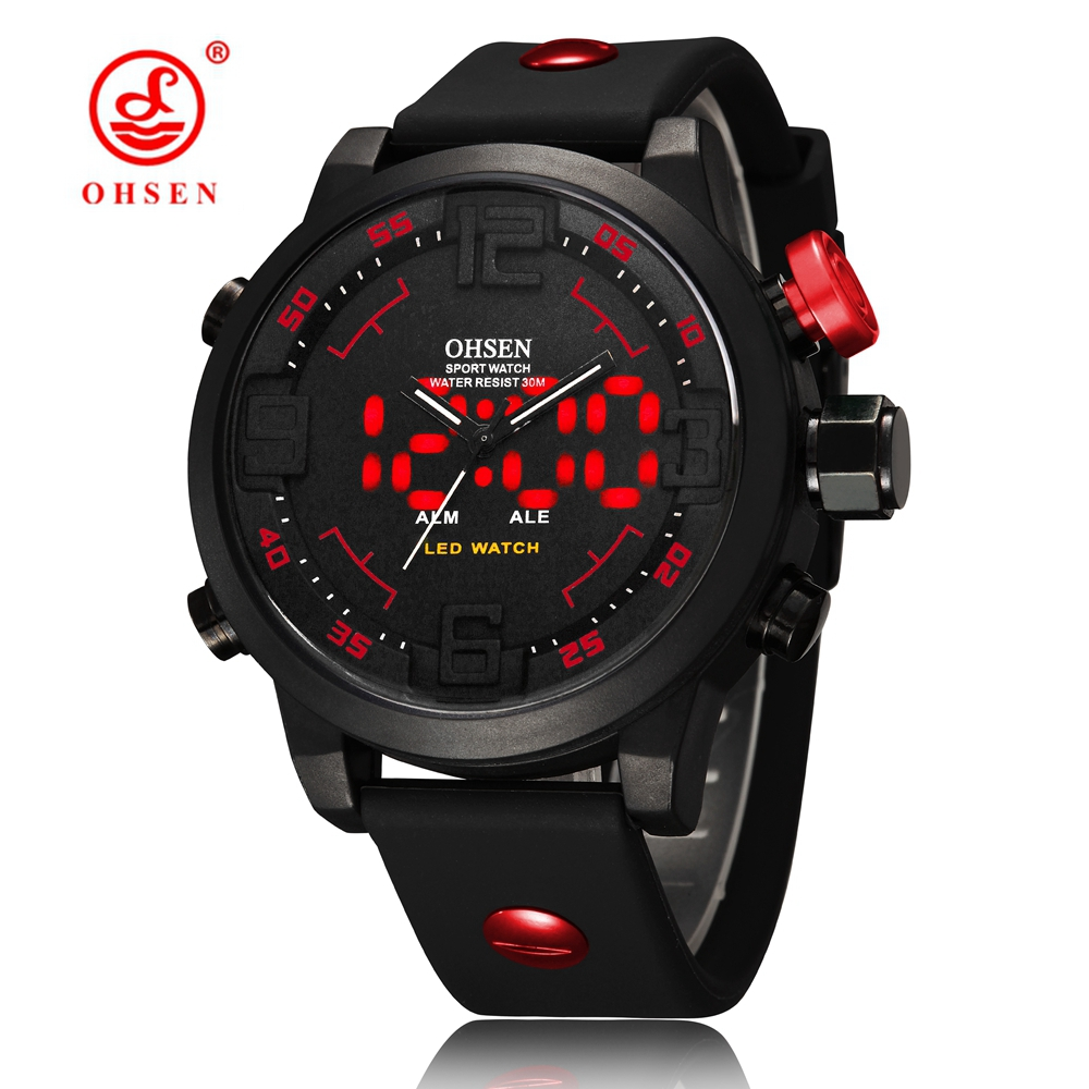 Silicone Man Sports Watch Waterproof Round Analog Quartz Digital High Quality Watch Brand Military Casual Clock reloj hombre women watch clock silicone rubber reloj jelly blue floral quartz analog sports flower casual wrist watch top brand dress watch