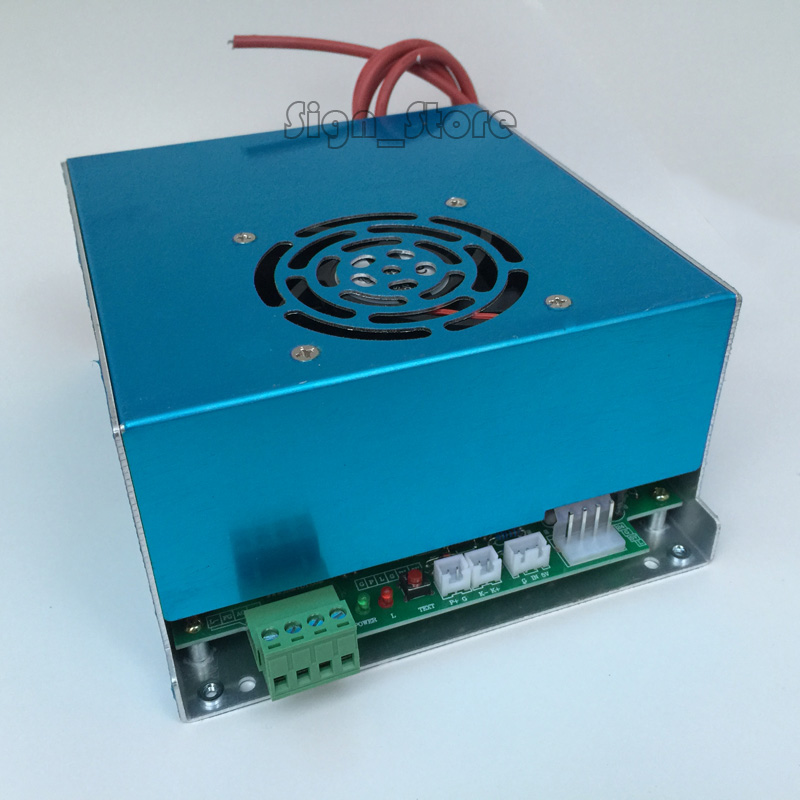 Yongli EFR CO2 40W Water cooling tube Laser Power Supply 110V / 220V High Voltage For Engraving Cutting Machine PSU MYJG 40W high voltage flyback transformer hy a 2 use for co2 laser power supply