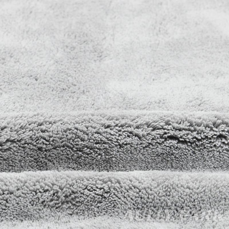800GMS Car Care Polishing Super Thick Plush Microfiber Car Cleaning Cloth Car Care Microfibre Wax Detailing