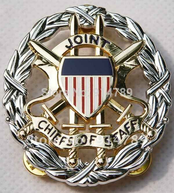 US OFFICE OF THE JOINT CHIEFS OF STAFF IDENTIFICATION METAL BADGE -32188