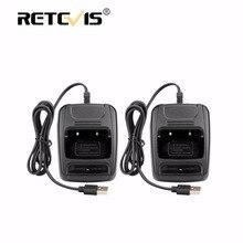 2 шт. USB литий-ионный Радио Батарея Зарядное устройство Вход 5 В 1A для Baofeng BF-888S bf888S Retevis H777 H-777 Walkie Talkie USB Зарядное устройство J9104E