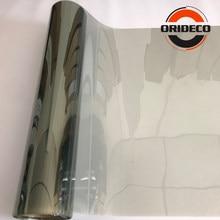 Filme tintura de janela de carro 50cm * 100/200/300/500cm cinza, janela lateral da frente, janela filme vlt 70% carro casa comercial proteção solar