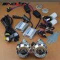 De coches de Estilo 2.0 ''HID Bi-xenon Lente Del Proyector Más Pequeño Micro LHD Kit Completo 4300 K 5000 K 6000 K 8000 K Para Los Coches/Motocicleta