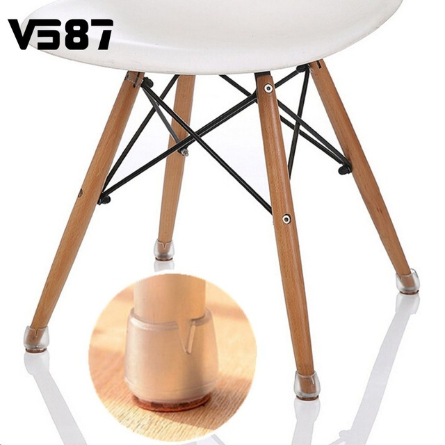 Round Chair Leg Caps Rubber Round Bottom Feet Protector Home Furniture Part  Pads Table Covers Supplies