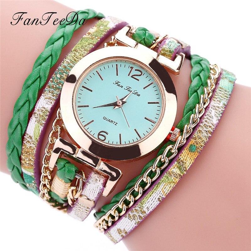Womens Watches Luxury New Women Ladies Dress Watch Fine Leather Band Winding Analog Quartz Movement Wristwatch Montres Femme