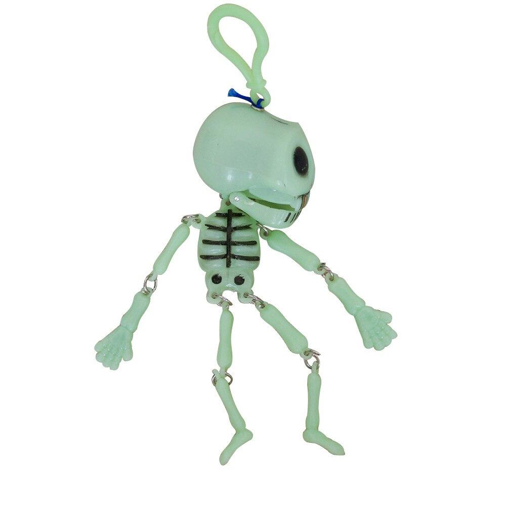 Halloween Toy Kids Adult Funny 15cm Plastic Luminous Skull