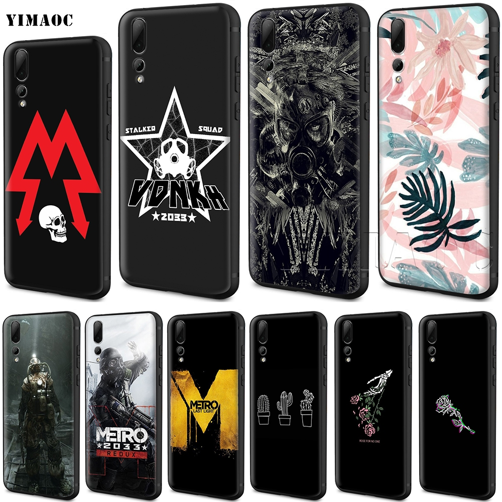 YIMAOC Metro 2033 Silicone Case for Huawei Honor 6a 7a 7c 7x 8 9 10 Lite Pro Y6 2018 2017 Prime