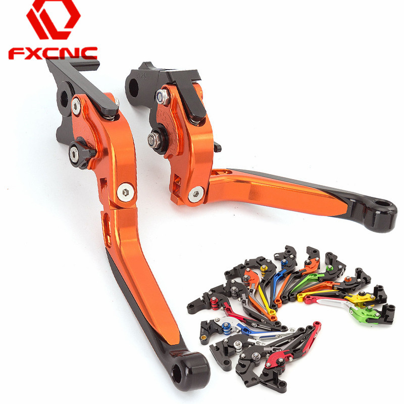For KTM 1190 Adventure R 2013 2014 2015 2016 CNC Motorcycle Accessories Adjustable Folding Extendable Brake Clutch Levers Pai for ktm 690 smc duke 2012 2013 motorcycle accessories adjustable folding extendable brake clutch levers black