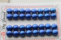Hot sell Noble Free shipping@ 16pairs wholesale Genuine Natural 12mm blue Pearl earrings loose pearls #f1803!