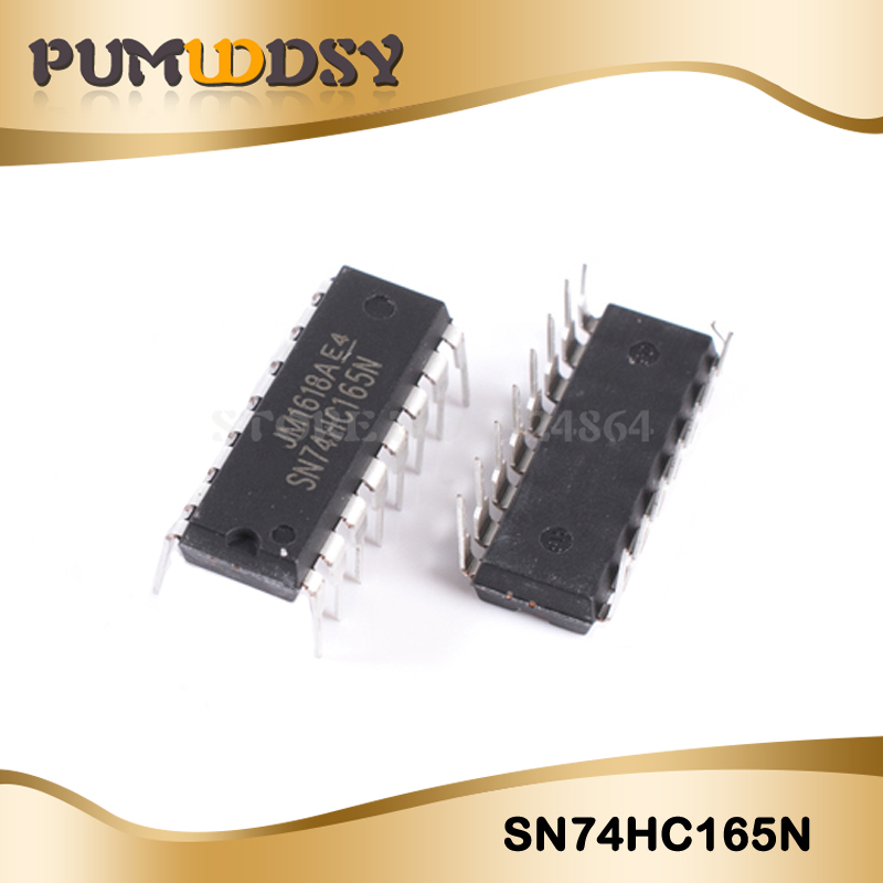 10PCS SN74HC165N DIP16 SN74HC165 DIP <font><b>74HC165N</b></font> 74HC165 new and original IC image