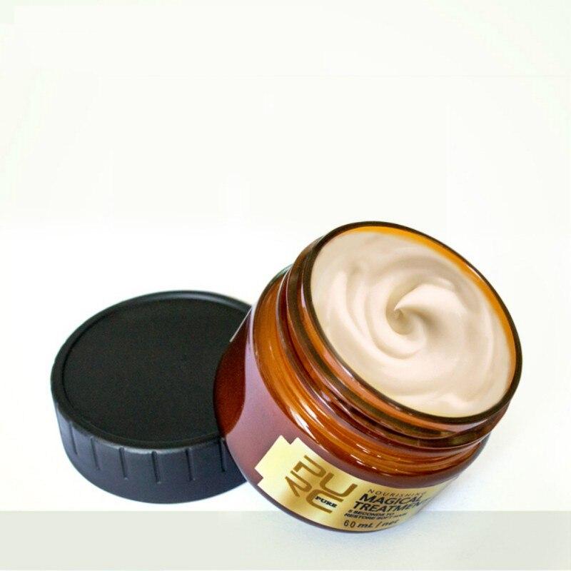 Magic Deep Hair Cream Repair Keratin Hair & Scalp Treatment Nutrition Soft Baking Oil Repairing Hair Rashness Scalding Dropship