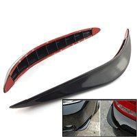 2PCS Car Bumper Guard Stick-on Corner Crash Bar Strip for Toyota Hilux Surf iQ Ist Kluger Land Cruiser Land Cruiser Prado