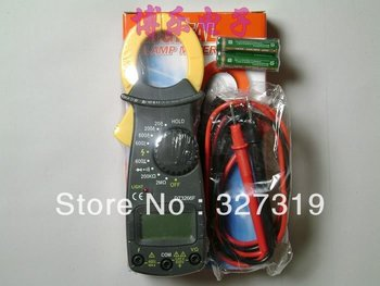 Portable AC DC LCD Digital Clamp Multimeter Meter Voltage Tester