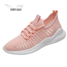 2019 Summer Women Sports Sneakers Air Mesh Breathable Female Sport Shoes Flat Woman Casual Running Shoes кроссовки женские