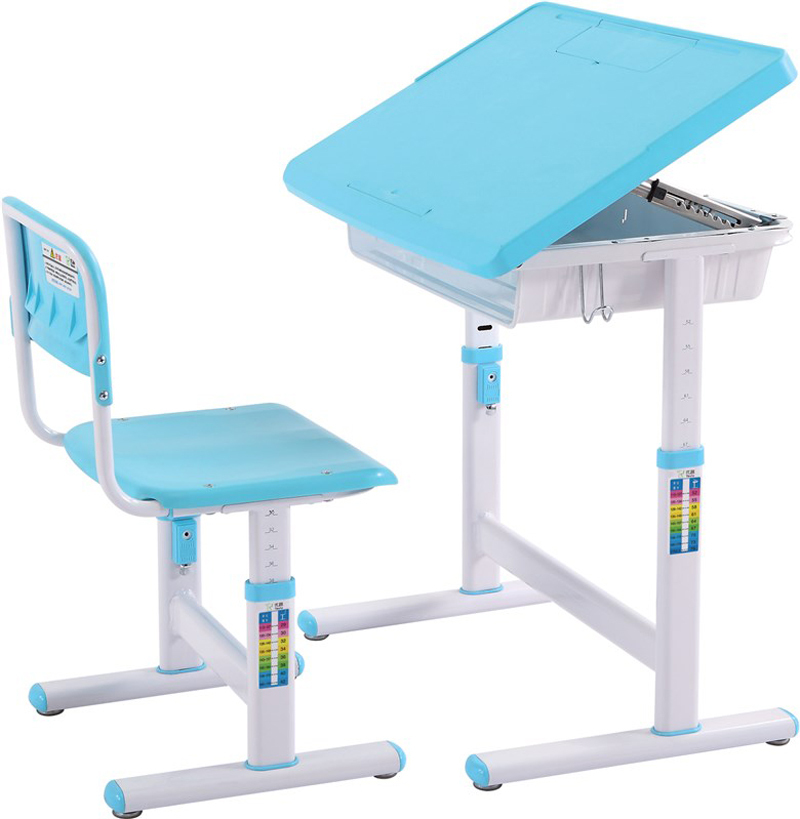 Ergonomic Adjustable Kids Study Desk/ABS Plastic Study Table For Children  Study Reading Writing Painting At Home In Children Furniture Sets From  Furniture ...