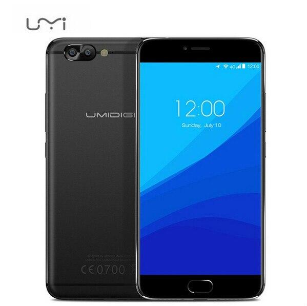 Original UMI UMIDIGI Z PRO Helio X27 MTK6797X Deca Core 4GB+32GB ROM 5.5 Inch 2.5D FHD Screen Android 6.0 4G Touch ID Smartphone