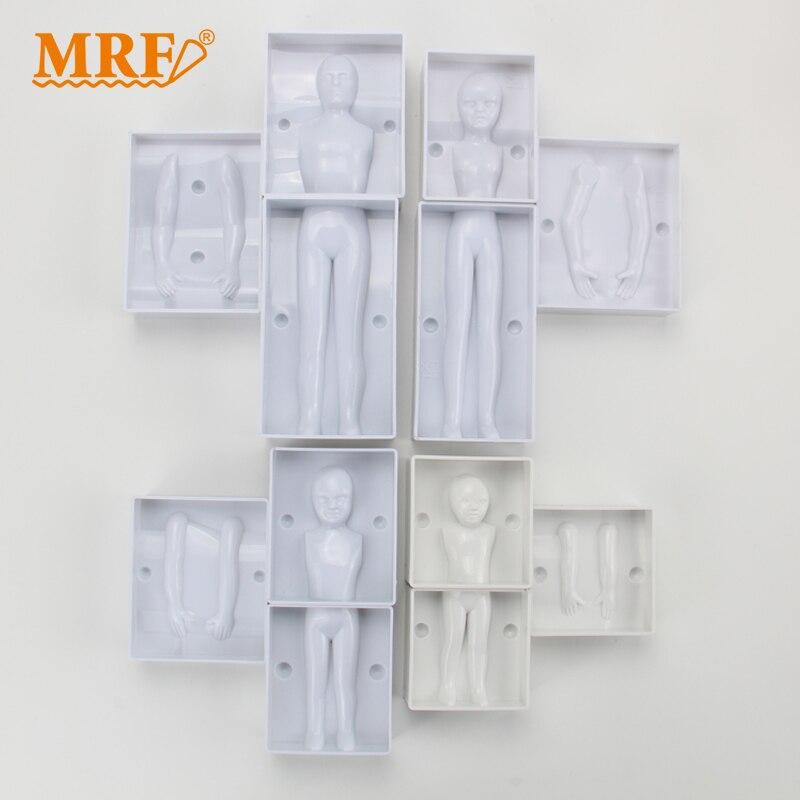 (4 компл./лот) Бесплатная доставка FDA высокое качество 4 комплекта смешанные Пластик 3D Семья органов (мама, отец, мальчик, девочка) Форма формы ...