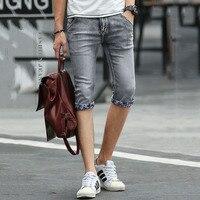 2017 Brand Shorts For Men Summer Men Denim Shorts Fashion Designers Shorts Cotton Jeans Slim Jeans