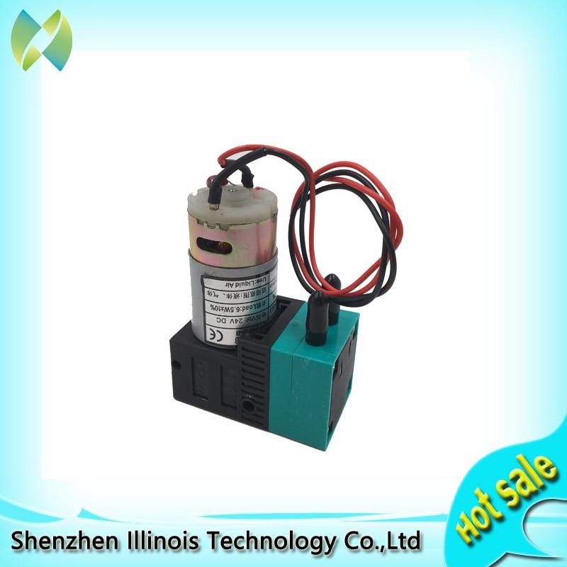 Bomba de diafragma micro-b 24 v/300-400 ml/m JYY (B)-30 bomba de tinta peças da impressora impressora impressora jato de tinta solvente ao ar livre-91.001.011