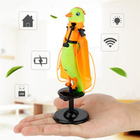 Children S Toys Induction Flying Parrot Flying Toys With Lights And Birdcall Flashing Light Singing Bird