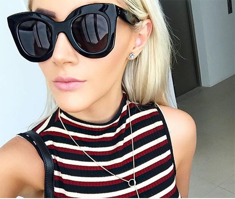 Luxury Vintage Cat Eye Sunglasses Women Brand Designer Female Sunglass Points Sun Glasses For Women Lady Sunglass Oculos De Sol (5)