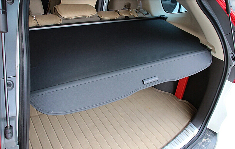 Black Rear Cargo Cover Trunk Security Shade Shield For Honda CRV CR V 2012 2013 2014
