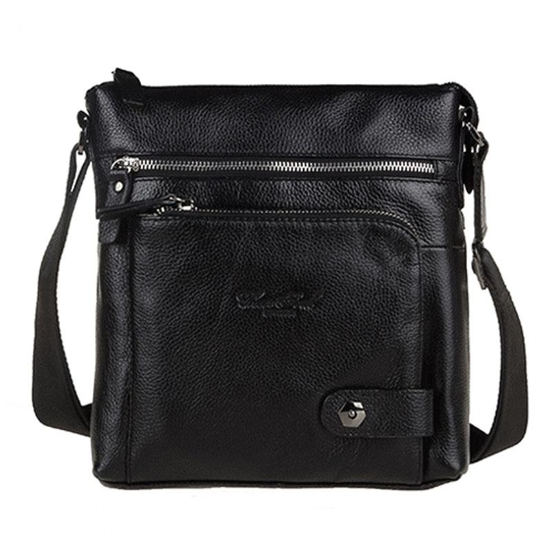 Men Cross Body Bag 100% Genuine Leather fashion brand trend Business Single Shoulder Bag Briefcase Men Trend Messenger Bags