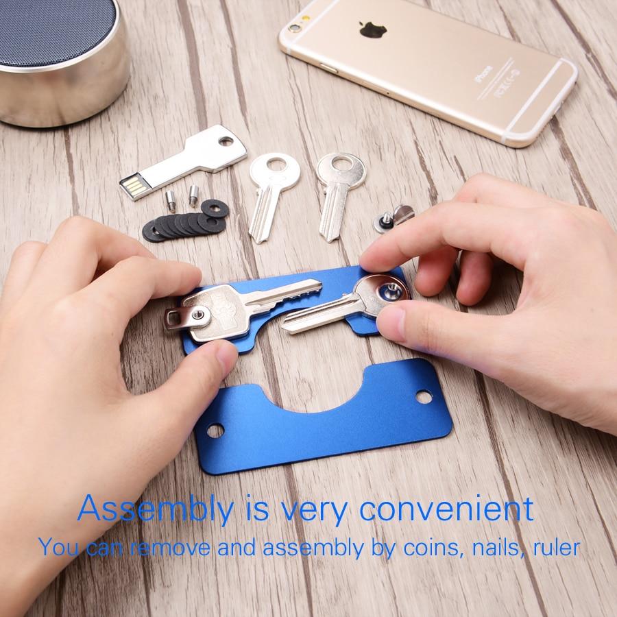 Le Jeune moderne.Accessoires-Porte clef nouvelle génération en métal pour clefs et USB-Nouvelle génération de porte clef. Terminé les trousseaux de clefs qui s'emmêlent et abimentvos poches. Optez pour ce nouveau porte clef (SB 16Go en option) et protégez vos poches et soyez tendance avec le Jeune moderne.
