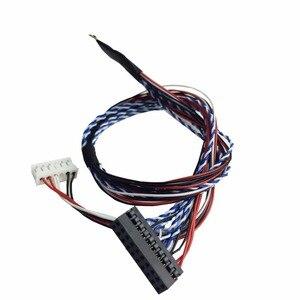 Image 4 - V56 Универсальный ЖК ТВ контроллер драйвер платы PC/VGA/HDMI/USB интерфейс с 40P lvds кабель 1ch 6 бит клавиатуры 561416