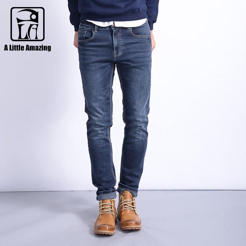 Jeans Relaxed Hommes Confortable Extensible De Pantalon Foncé Bleu Denim Moto Jean Durable 2017 Tricot Skinny Fit Straight Super Classique AUwAqt4