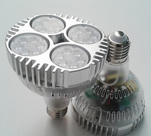 Free Shipping 40W PAR30 led light E27 AC85-265V spot good for diamond and jewelry shop cool /pure white/warm white