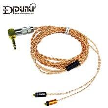 Dunu оригинальный GZ-OCC2701 3.5 мм наушники Обновление кабель для DN-2002/DK-3001 MMCX iem предназначен для съемные наушники