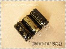 30PCS ELNA black gold RA2 series 2200uF/16V audio electrolytic capacitors (origl bag origl box) free shipping e cap aluminum 16v 22 2200uf electrolytic capacitors pack for diy project white 9 x 10 pcs