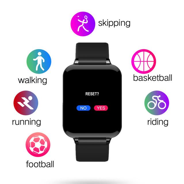 B57 smart watch women men smartwatch heart rate monitor multiple sport model fitness tracker man women wearable For HUAWEI phone