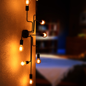 Image 3 - Vintage Hanglampen Art Keuken Slaapkamer Eetkamer Industriële Amerikaanse Dorp Opknoping Lamp Voor Bar Coffee Shop Hanger Lamp
