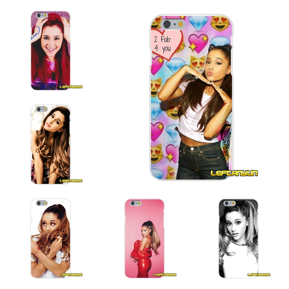 795122b3f43 For iPhone X 4 4S 5 5S 5C SE 6 6S 7 8 Plus Cat Ar Ariana Grande Accessories  Phone Cases Covers