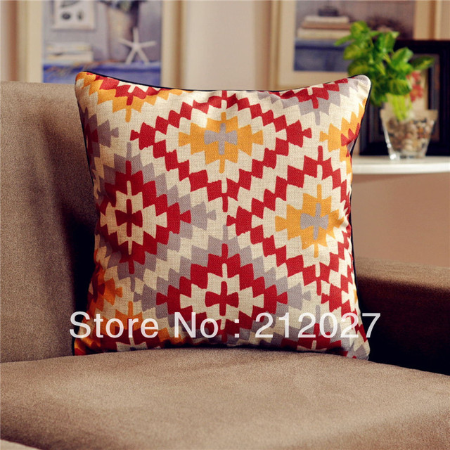 Envío Gratis Boho étnico algodón de lino asiática Fundas de colchón ...