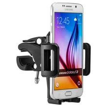 Universal Motor Bike Car Phone Holder Stand For Samsung Galaxy S7 Edge Plus S3 S4 S5 S6 edge Handlebar GPS Sport mount New