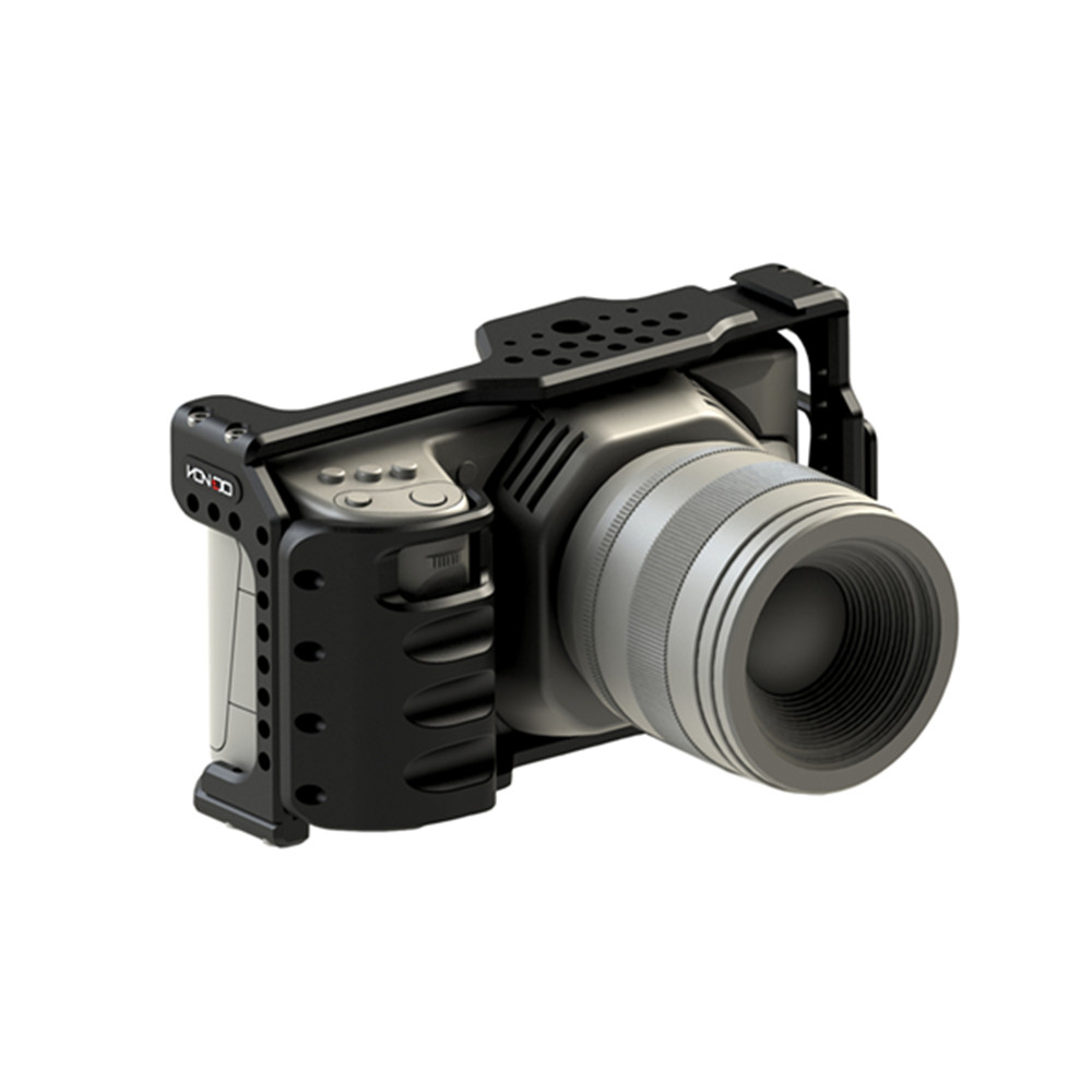 Image 4 - HONTOO BMD BMPCC 4 K клетка Rig DSLR RIG каркасная плита с верхней ручкой 15 мм камера установка для BlackMagic Карманный кинотеатр камера 4 K-in Аксессуары для фотостудии from Бытовая электроника