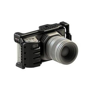 Image 4 - HONTOO BMD BMPCC 4K Cage Rig DSLR RIG Cage Baseplate Top Handle  15mm camera rig FOR BlackMagic Pocket Cinema Camera 4K