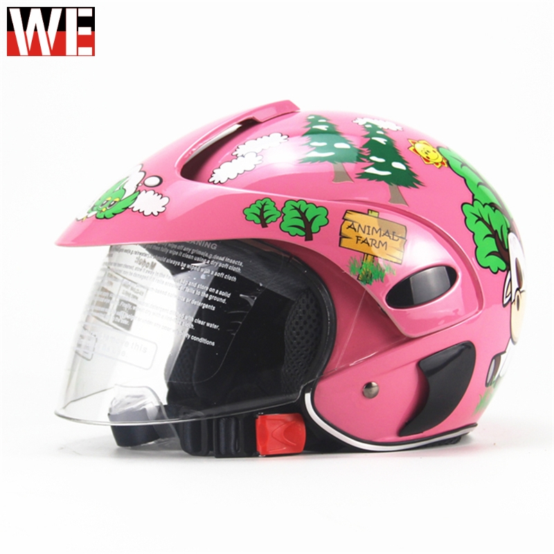 WOSAWE Children Motocross Ful Face Helmet Motorcycle Kids Helmets Motorbike Childs MOTO Safety Headpiece Protection Gear