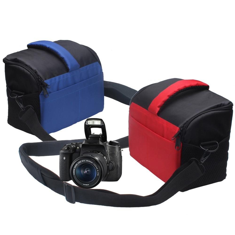 DSLR Kameratasche Video Foto Fall für Nikon D3200 D3100 D5100 D7200 D7100 D5200 D5300 D3400 D5500 D3300 D7000 D750 D810 D600