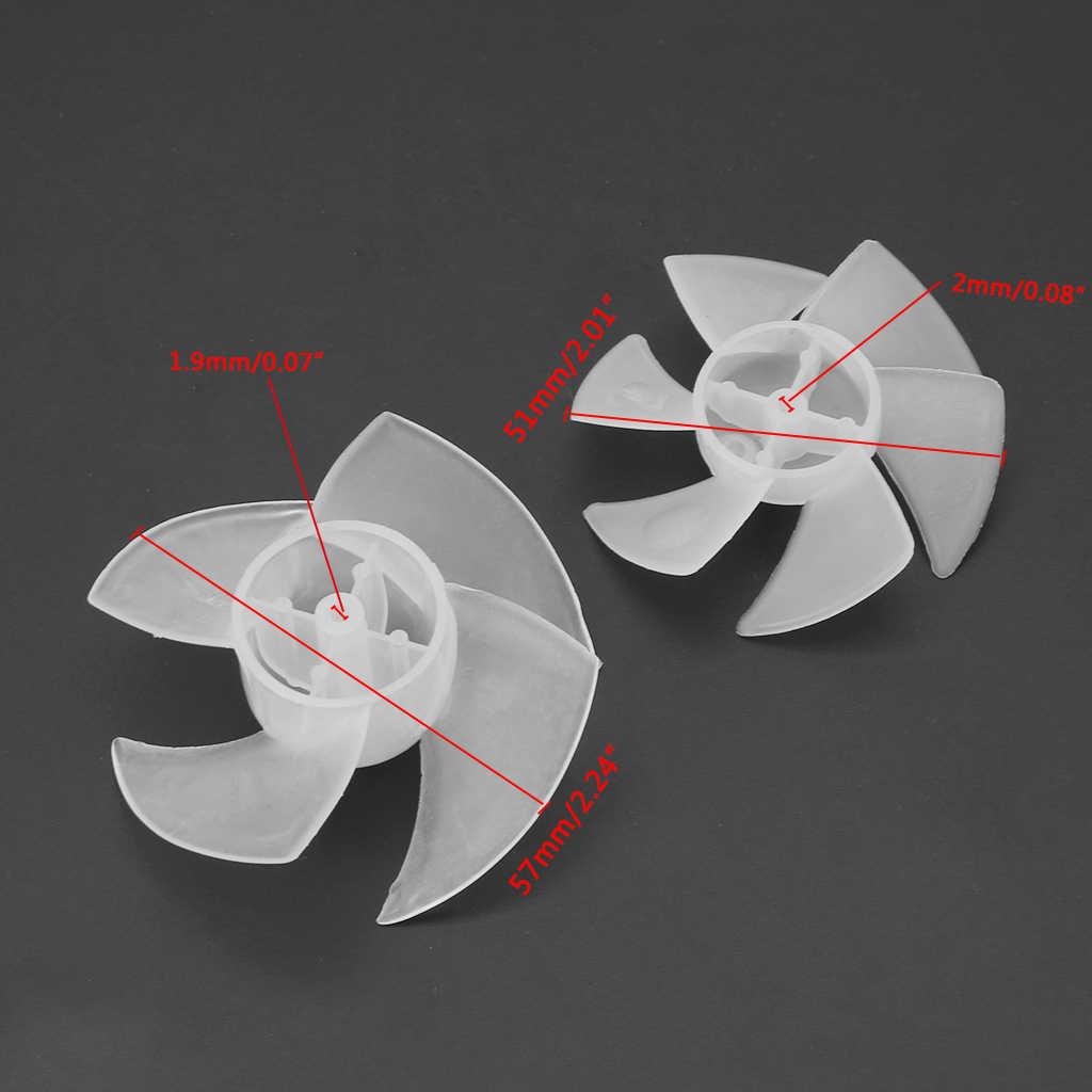 Lâmina de 4/6 Folhas Para Secador De Cabelo pequeno Poder de Mini Ventilador Plástico Do Motor