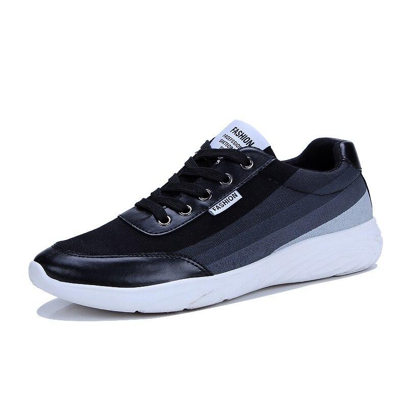 Mf811828 Sapatos Lona Mens Preto Homens De Pop Respirável Moda Casuais Designer Venda branco vdqdw6Tnx