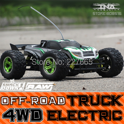 New Firefox 4WD electric Remote control toy car Rc monster
