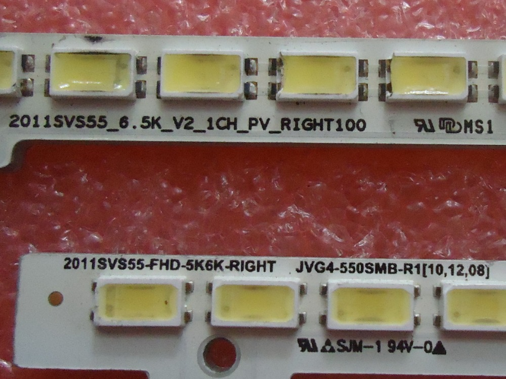 UA55D6600WJ  2011SVS55-FHD-5K6K-RIGHT   LED LIGHTS     1pcs=100led  680mm кастрюля supra svs 2491c