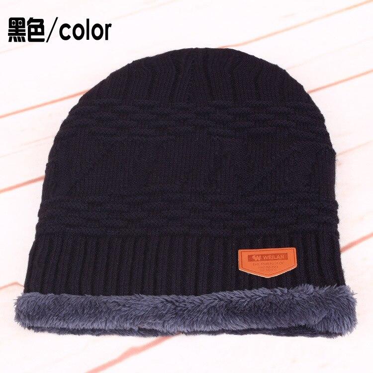 New Fashion Men Women Warm Snow Winter Casual Beanies Solid 4 Colors Favourite Knit Hats Cap cotton Hip Hop Casual Male Bonnet