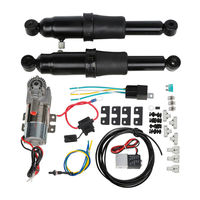 Adjustable Rear Air Ride Suspension Kit For Harley Touring Electra Street Road Glide Road King Bagger