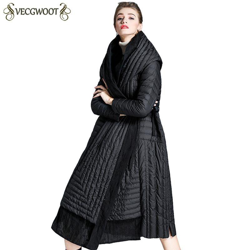 À Long Haute Noir Pr244 Chaud Manteau Qualité Nouveau 2019 Moyen Capuche Black Veste Lâche Dames Vers Femmes Mode Survêtement Parkas Le Bas SvfxnqwSTr