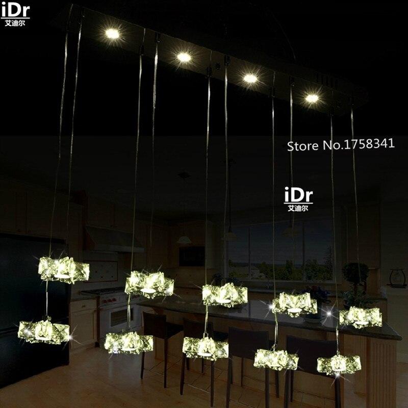 Звезда романтический бар свет светодиодный хрустальный светильник креативное Искусство современного Кофейни магазин одежды люстра